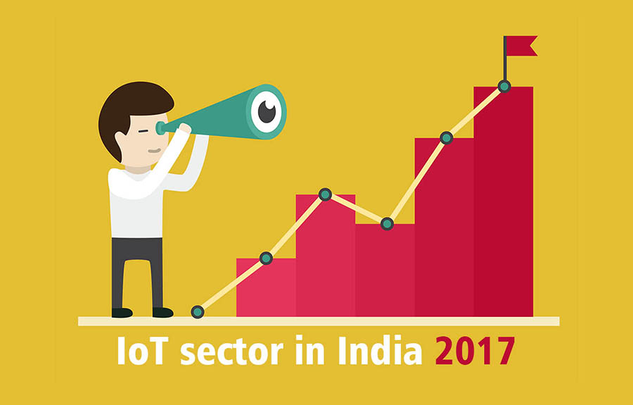 iot forecast india fy 2017 retail