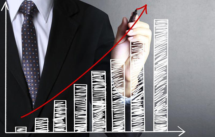 digital signage growth graph